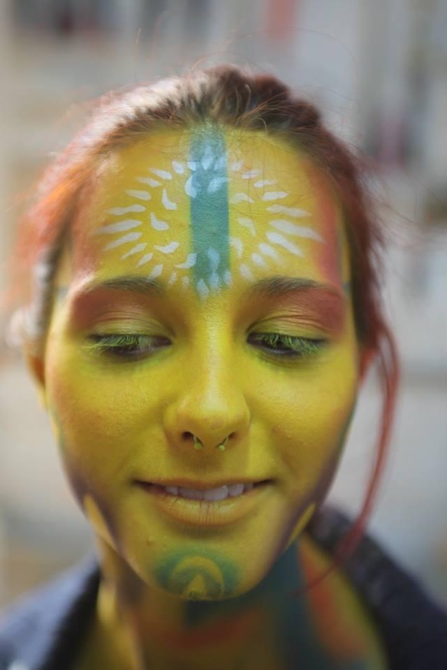 body painting by letizia femia – coach leonardo giacomo borgese